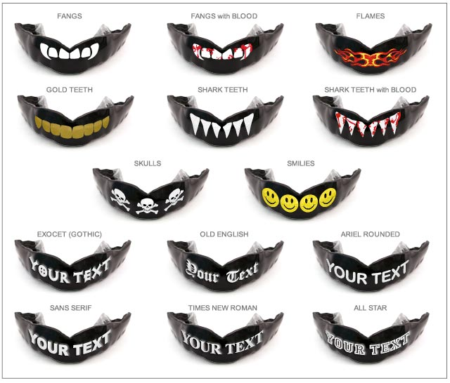 Mouth Guard Designs 88