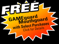 Free GAMEguard Mouthguard with Select Purchases